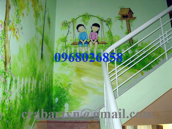Vẽ tranh tường chất lượng cao giá rẻ. Ảnh số 27170619