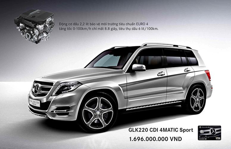 Bán mercedes GLK220 CDI máy dầu 2013, giá xe mercedes GLK 220 AMG tốt nhất chỉ có tại Vietnam Star Phú Mỹ Hưng Ảnh số 27319574