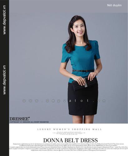 Đầm công sở Đẹp và Tốt: Chuyên sĩ lẻ đầm công sở phong cách hàn quốc. Mẫu đẹp, vải tốt, giá 290k Ảnh số 27648046