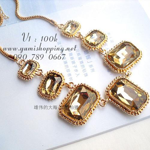Chuyên sỉ lẻ phụ kiện trang sức Hàn Quốc : bông tai 15k, dây chuyền, vòng cổ 90k 150k - 2