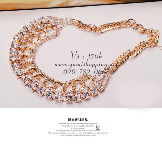 Chuyên sỉ lẻ phụ kiện trang sức Hàn Quốc : bông tai 15k, dây chuyền, vòng cổ 90k 150k - 5