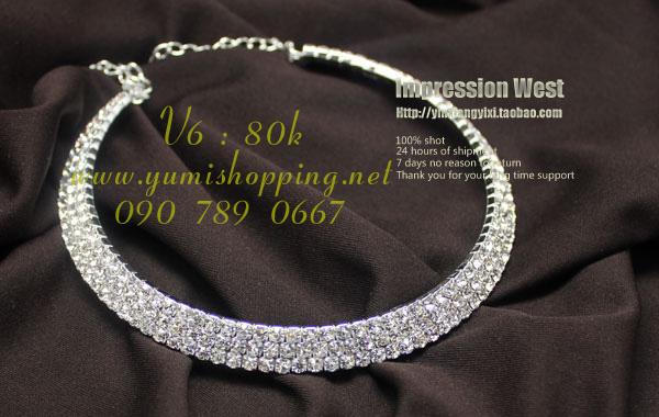 Chuyên sỉ lẻ phụ kiện trang sức Hàn Quốc : bông tai 15k, dây chuyền, vòng cổ 90k 150k - 8
