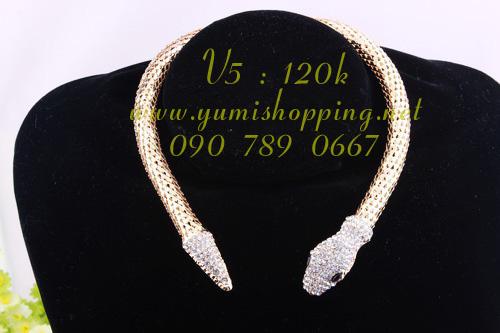 Chuyên sỉ lẻ phụ kiện trang sức Hàn Quốc : bông tai 15k, dây chuyền, vòng cổ 90k 150k - 7