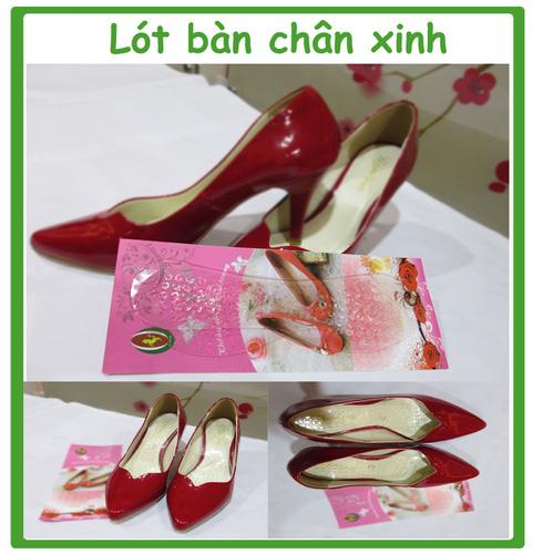 Lót giày Silicon cho giày cao gót lót giày giúp chân êm, không bị xước, thoải mái khi đi giày cao gót nhiều giờ liền Ảnh số 27809763