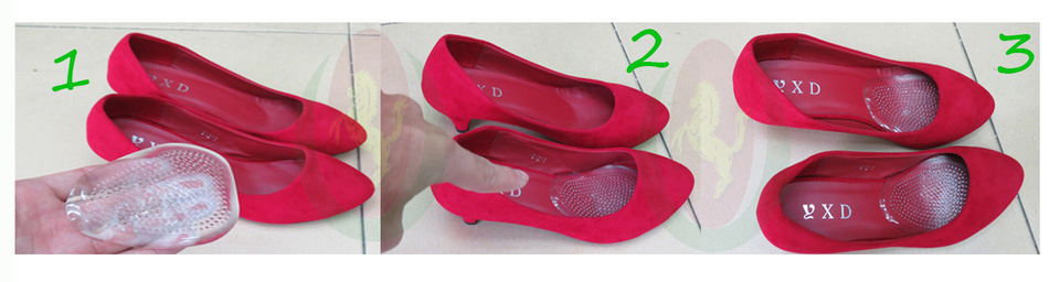 Lót giày Silicon cho giày cao gót lót giày giúp chân êm, không bị xước, thoải mái khi đi giày cao gót nhiều giờ liền Ảnh số 27809807