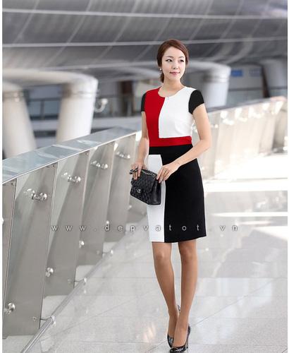 Đầm công sở Đẹp và Tốt: Chuyên sĩ lẻ đầm công sở phong cách hàn quốc. Mẫu đẹp, vải tốt, giá 290k Ảnh số 28212176