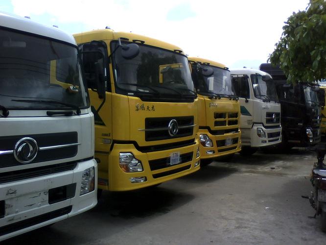 công ty bán xe tải dongfeng 17.85/17.9 tấn hoàng huynhập khẩu trả góp 2016.