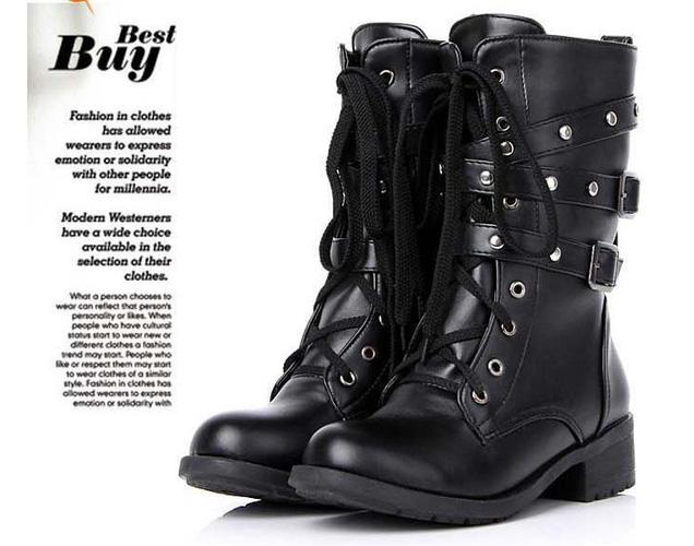 Giày boot nữ 2013 đẹp, rẻ, thời trang, cá tính Bộ sưu tập Boot giá rẻ nhất hiện nay Houseshopping Ảnh số 28647759