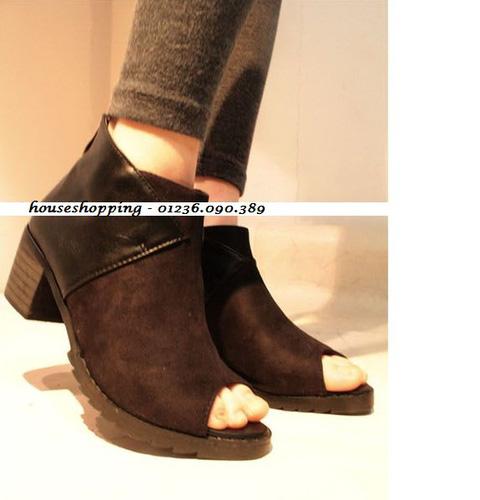 Giày boot nữ 2013 đẹp, rẻ, thời trang, cá tính Bộ sưu tập Boot giá rẻ nhất hiện nay Houseshopping Ảnh số 28792407