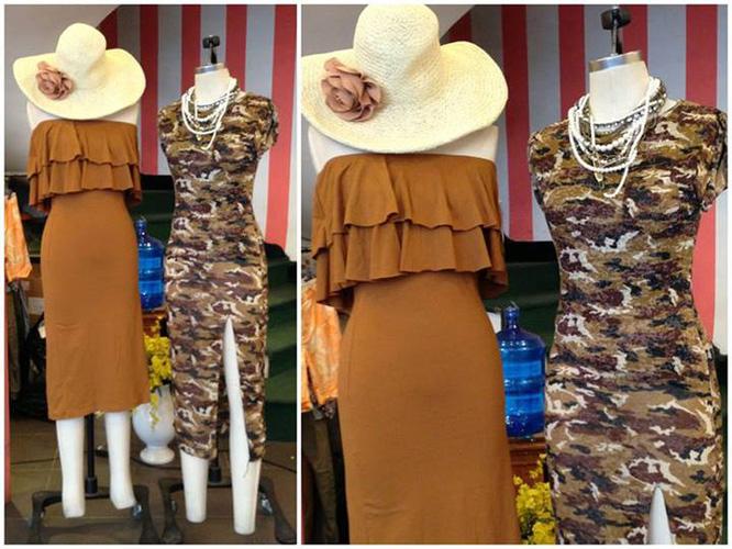 Chuyên váy thun dài, khoét lưng, ôm, xẻ tà các kiểu Sỉ lẻ Ảnh số 28959852