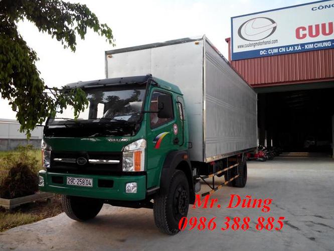 Xe tải thùng 7 8 tấn cửu long trường giang ben cũ mới các loại tải trọng đã qua sử dụng Ảnh số 29100563