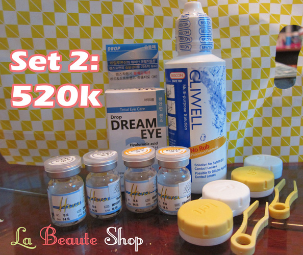 Lens Hàn Quốc giá RẺ NHẤT HÀ NỘI, mua ngay để sở hữu đôi mắt búp bê. Ảnh số 29188431