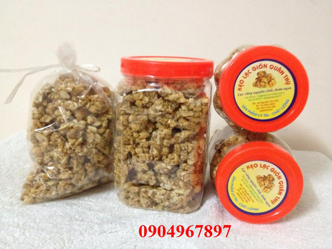 Kẹo lạc chú Thụ, đặc sản lâu năm Hà Nội Ảnh số 29356059