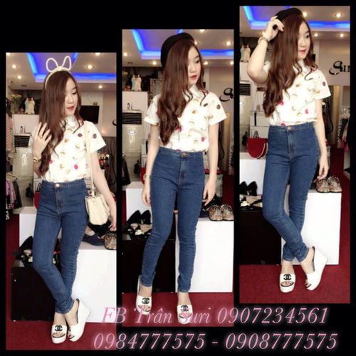 Jeans Vnxk ,Jeans rách , cạp đúc , cạp cao , skinny jeans với mẫu mã đẹp và chất lượng hợp lý.đồng giá 270.000đ Ảnh số 29462706