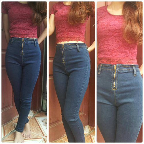 Jeans Vnxk ,Jeans rách , cạp đúc , cạp cao , skinny jeans với mẫu mã đẹp và chất lượng hợp lý.đồng giá 270.000đ Ảnh số 29462712