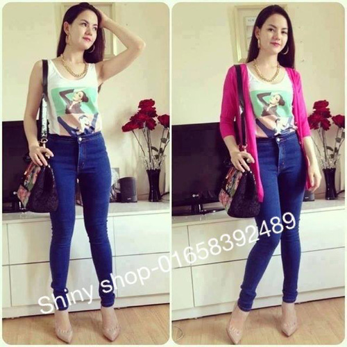 Jeans Vnxk ,Jeans rách , cạp đúc , cạp cao , skinny jeans với mẫu mã đẹp và chất lượng hợp lý.đồng giá 270.000đ Ảnh số 29462727