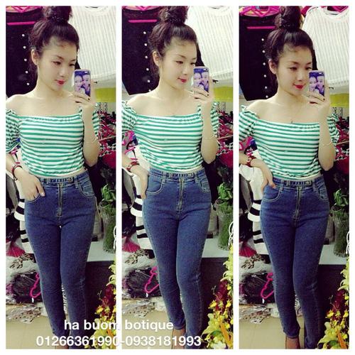 Jeans Vnxk ,Jeans rách , cạp đúc , cạp cao , skinny jeans với mẫu mã đẹp và chất lượng hợp lý.đồng giá 270.000đ Ảnh số 29462759