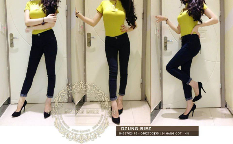 Jeans Vnxk ,Jeans rách , cạp đúc , cạp cao , skinny jeans với mẫu mã đẹp và chất lượng hợp lý.đồng giá 270.000đ Ảnh số 29462772