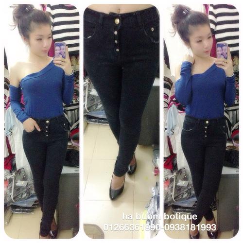 Jeans Vnxk ,Jeans rách , cạp đúc , cạp cao , skinny jeans với mẫu mã đẹp và chất lượng hợp lý.đồng giá 270.000đ Ảnh số 29462773