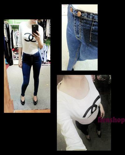 Jeans Vnxk ,Jeans rách , cạp đúc , cạp cao , skinny jeans với mẫu mã đẹp và chất lượng hợp lý.đồng giá 270.000đ Ảnh số 29462777