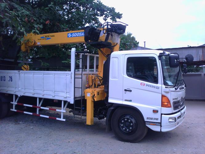 Bán xe tải Hino 6,4 tấn gắn cẩu Soosan SCS334 3 tấn 4 khúc mới 100% Ảnh số 29516847