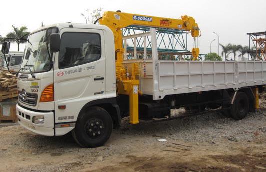 Bán xe tải Hino 6,4 tấn gắn cẩu Soosan SCS334 3 tấn 4 khúc mới 100% Ảnh số 29656186