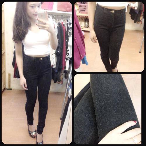 Jeans Vnxk ,Jeans rách , cạp đúc , cạp cao , skinny jeans với mẫu mã đẹp và chất lượng hợp lý.đồng giá 270.000đ Ảnh số 29967976