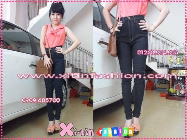 Jeans Vnxk ,Jeans rách , cạp đúc , cạp cao , skinny jeans với mẫu mã đẹp và chất lượng hợp lý.đồng giá 270.000đ Ảnh số 30037015