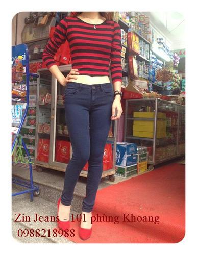 Jeans Vnxk ,Jeans rách , cạp đúc , cạp cao , skinny jeans với mẫu mã đẹp và chất lượng hợp lý.đồng giá 270.000đ Ảnh số 30037010