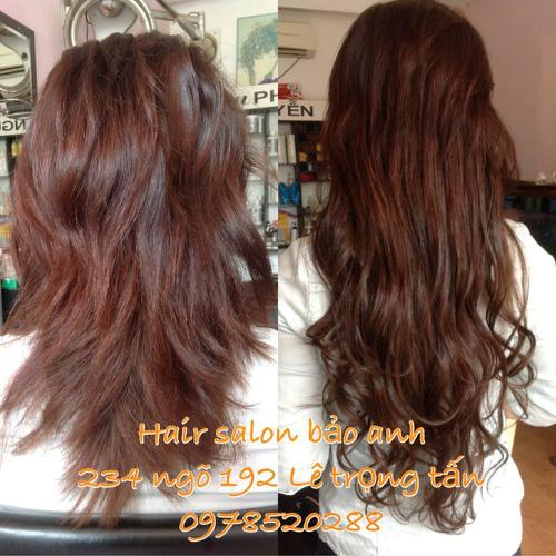 SALON BẢO ANH.Nối tóc tại nhà ,nối Sợi FiberGlass ko keo nối cực bền,đẹp, miễn phí nhuộm và ép tóc nối.Độ dài tuỳ ý. Ảnh số 30116404