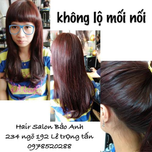 SALON BẢO ANH.Nối tóc tại nhà ,nối Sợi FiberGlass ko keo nối cực bền,đẹp, miễn phí nhuộm và ép tóc nối.Độ dài tuỳ ý. Ảnh số 30116696