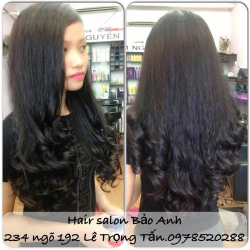 SALON BẢO ANH.Nối tóc tại nhà ,nối Sợi FiberGlass ko keo nối cực bền,đẹp, miễn phí nhuộm và ép tóc nối.Độ dài tuỳ ý. Ảnh số 30116700