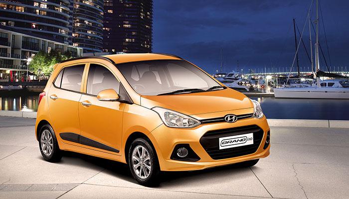 Hyundai Grand i10 2014 bản thường, bản full option, màu trắng, bạc, vàng cam, đỏ, giá tốt..... Ảnh số 30346268