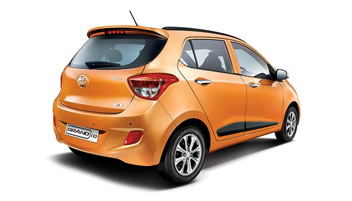 Hyundai Grand i10 2014 bản thường, bản full option, màu trắng, bạc, vàng cam, đỏ, giá tốt..... Ảnh số 30346277