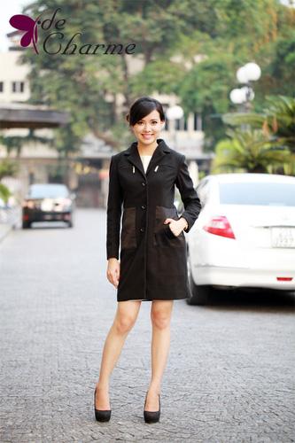 Rất nhiều những mẫu áo dạ, mẫu đầm, áo vest,....hàng Việt Nam kiểu dáng độc đáo, thời trang nhất năm 2013 Ảnh số 30409796