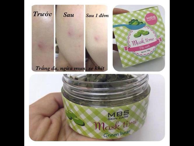 Mỹ phẩm dưỡng da nhãn MCL xách tay Thái Lan và mặt nạ tinh chất thiên nhiên:đậu xanh, rong biển,collagen,rượu vang Ảnh số 31127408