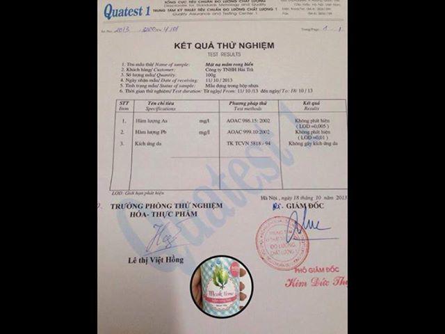 Mỹ phẩm dưỡng da nhãn MCL xách tay Thái Lan và mặt nạ tinh chất thiên nhiên:đậu xanh, rong biển,collagen,rượu vang Ảnh số 31127543