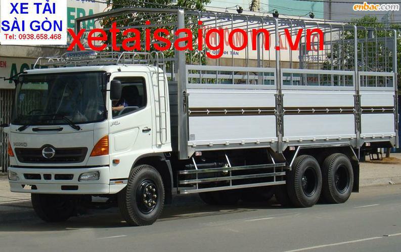 Bán xe tải Hino 15 Tấn FL8JTSL, Hino 16 tấn gắn cẩu Kanglim Unic Soosan, Hino 14 tấn đông lạnh, Hino 15T4 thùng Bạt Ảnh số 31441207
