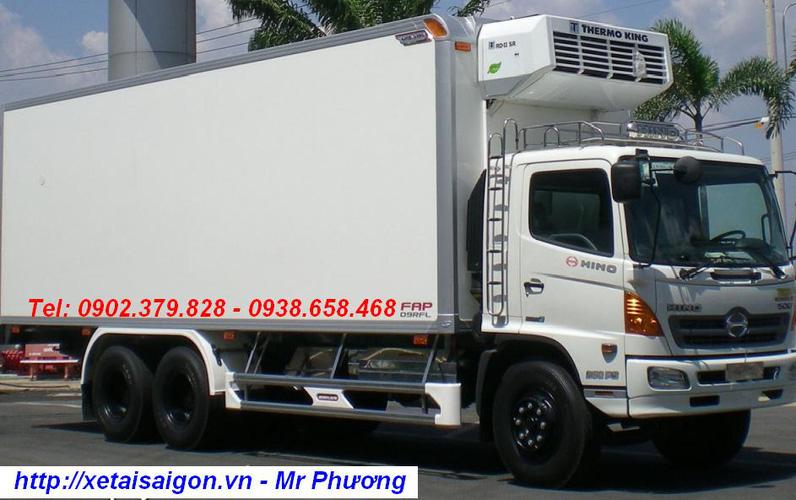 Bán xe tải Hino 15 Tấn FL8JTSL, Hino 16 tấn gắn cẩu Kanglim Unic Soosan, Hino 14 tấn đông lạnh, Hino 15T4 thùng Bạt Ảnh số 31461775