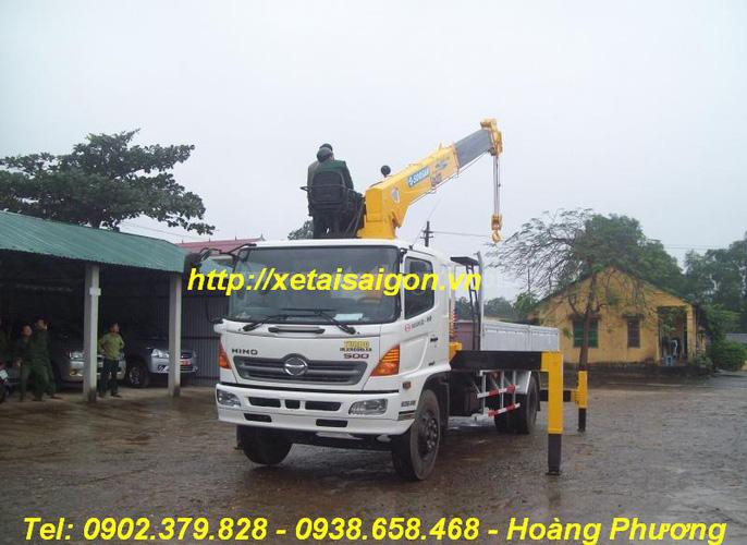 Bán xe tải Hino 15 Tấn FL8JTSL, Hino 16 tấn gắn cẩu Kanglim Unic Soosan, Hino 14 tấn đông lạnh, Hino 15T4 thùng Bạt Ảnh số 31519786