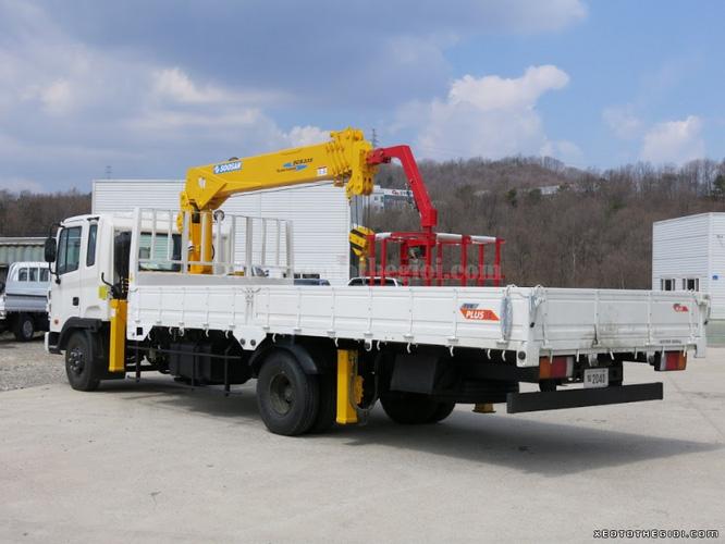 Đại lý bán cẩu Soosan 2 tấn, 3 tấn, 5 tấn, 7 tấn, 8 tấn, 10 tấn, 15 tấn, 17 tấn, 20 tấn mới 100% đóng trên nền xe Hino Ảnh số 31557663