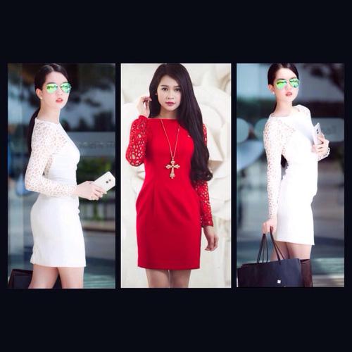 Xinh Lung Linh với cực nhìu Style Váy, Chân Váy, Maxi, Sơ mi, Jean, Pull. Các bạn ủng hộ m nhé. ?nh s? 31569650