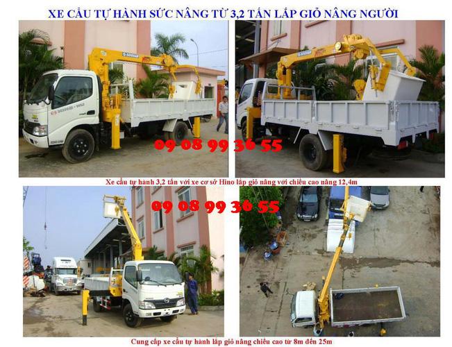 Đại lý bán xe cẩu tự hành Hino FM 15 tấn gắn cẩu Soosan SCS1015LS có sức nâng 12 tấn mới 100 đời 2014 giá rẻ nhất Ảnh số 31597940