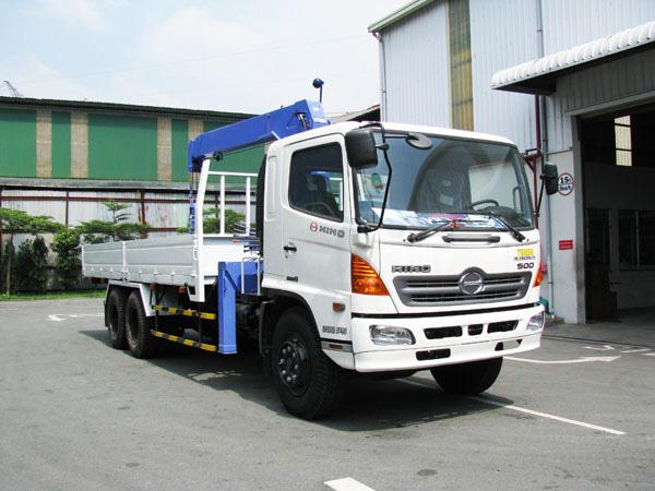 Đại lý bán xe cẩu tự hành Hino FM 15 tấn gắn cẩu Soosan SCS1015LS có sức nâng 12 tấn mới 100 đời 2014 giá rẻ nhất Ảnh số 31601699