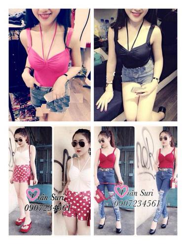 GEMMY SHOP: CHUYÊN SỈ LẺ hàng hot girl,phông croptop, bộ đôi, quần suông, jumsuit Huyên bé. Ảnh số 31676003
