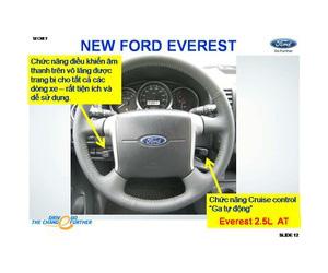 Giá xe Ford Everest,Bán xe Ford Everest 2014 khuyến mại tốt nhất miền Bắc tại Ford Thủ Đô Ảnh số 31710504