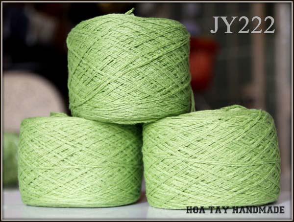 Len sợi, phụ liệu đan móc: chỉ cotton, len Nhật, len Hàn, len 1 sợi, cotton Nhật, Cotton Hàn, kim móc, kim đan... Ảnh số 32215116