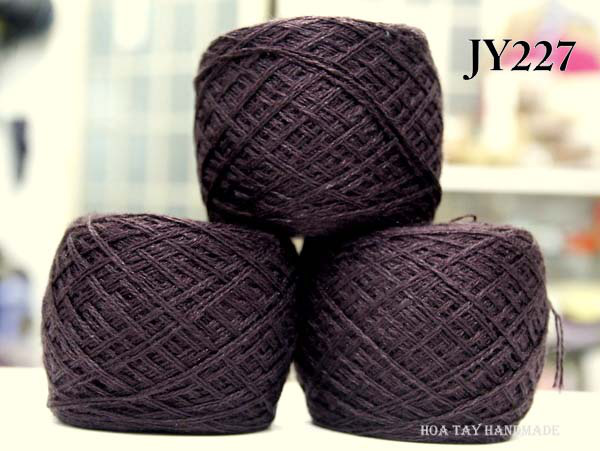 Len sợi, phụ liệu đan móc: chỉ cotton, len Nhật, len Hàn, len 1 sợi, cotton Nhật, Cotton Hàn, kim móc, kim đan... Ảnh số 32215117