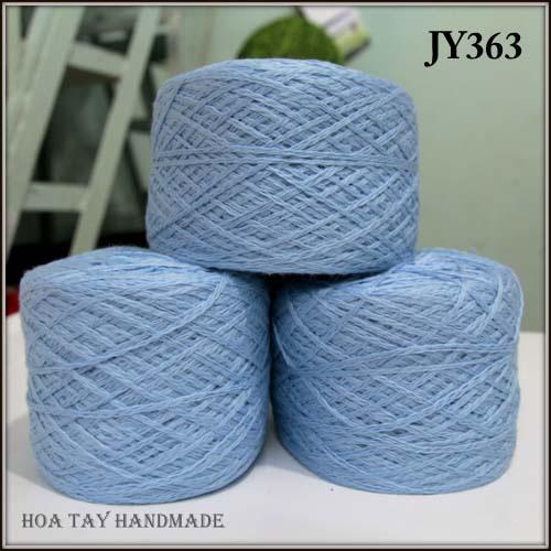Len sợi, phụ liệu đan móc: chỉ cotton, len Nhật, len Hàn, len 1 sợi, cotton Nhật, Cotton Hàn, kim móc, kim đan... Ảnh số 32217937