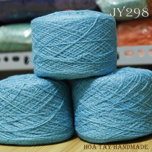 Len sợi, phụ liệu đan móc: chỉ cotton, len Nhật, len Hàn, len 1 sợi, cotton Nhật, Cotton Hàn, kim móc, kim đan... Ảnh số 32218024